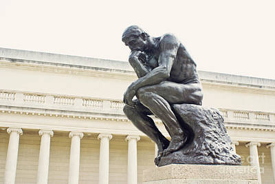Photograph - The Thinker by Cindy Garber Iverson