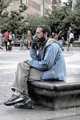 Photograph - The Thinker by Rick Kuperberg Sr