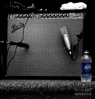 The Thirst Of Sound Art Print by Steven Digman