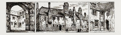 The Threatened Demolition Of The Charterhouse Art Print by Litz Collection