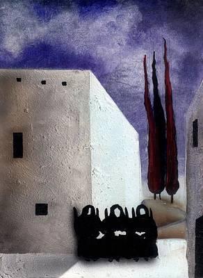 The Three Fates Original by Jose Luis Alcover