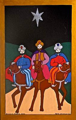 Painting - The Three Kings by Stephanie Moore