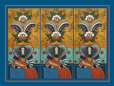 The Three Marys Art Print by Leif Sodergren