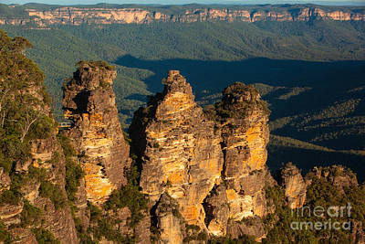 Photograph - The Three Sisters by Gabor Pozsgai