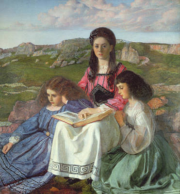 The Three Sisters Of Dean Liddell Art Print