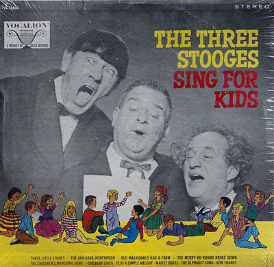 Three Stooges Photograph - The Three Stooges Sing For Kids by Official Three Stooges