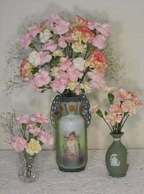 Photograph - The Three Vases by Good Taste Art