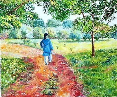 Painting - The Threshold by Aditi Bhatt
