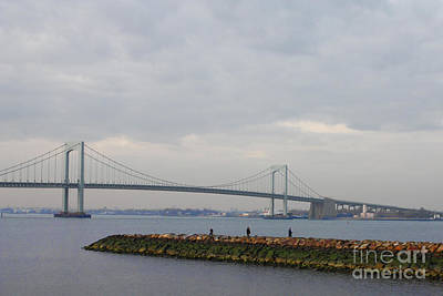 Photograph - The Throgs Neck Bridge by John Telfer