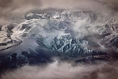 Valley Wall Art - Photograph - The Tibetan Plateau by Martin Van Hoecke