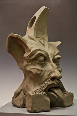 The Tibetan Spiritual  Alien Thinker Original by Lilian Istrati