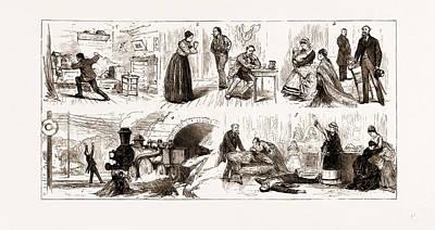 The Tichborne Case In Paris, France, 1875 Art Print