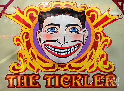 The Tickler Of Coney Island Art Print