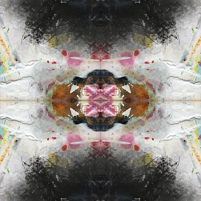 Rorschach Digital Art - the Tide Pool Mandala 3 by Paul Ashby