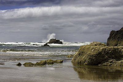 Photograph - The Tide Rolls In by Sara Hudock