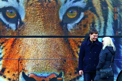 Photograph - The Tiger Behind by Roberto Pagani