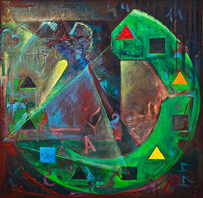 The Time Cube Motion Original by Lilian Istrati