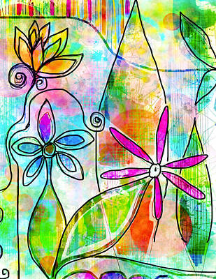 Digital Painting - The Time To Bloom by Robin Mead