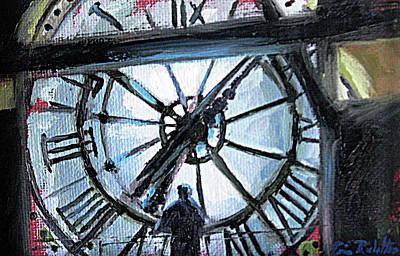 The Timekeeper Art Print