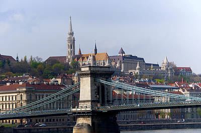 Photograph - The Timeless River Danube by Brenda Kean