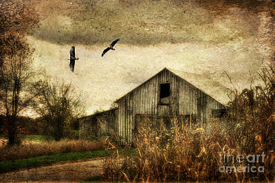 Rural Scenes Digital Art - The Times They Are A Changing by Lois Bryan