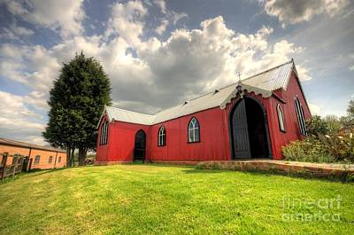 Roofing Tin Photograph - The Tin Tabernacle  by Rob Hawkins
