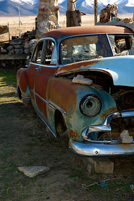 Photograph - The Tired Chevy 3 by Richard J Cassato