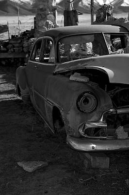 Photograph - The Tired Chevy by Richard J Cassato
