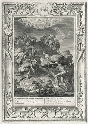 The Titans - A Race Of Giants  - Seek Art Print