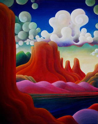 Painting - The Tomb_lake Powell II by Richard Dennis