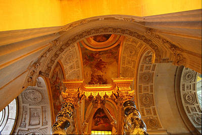 Invalides Photograph - The Tombs At Les Invalides - Paris France - 011325 by DC Photographer