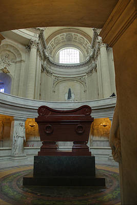 Early Photograph - The Tombs At Les Invalides - Paris France - 011330 by DC Photographer