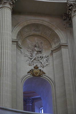 Column Photograph - The Tombs At Les Invalides - Paris France - 011332 by DC Photographer