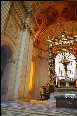 The Tombs At Les Invalides - Paris France - 01135 Art Print