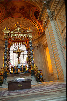 The Tombs At Les Invalides - Paris France - 01136 Art Print by DC Photographer