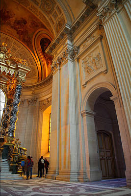 The Tombs At Les Invalides - Paris France - 01138 Art Print by DC Photographer