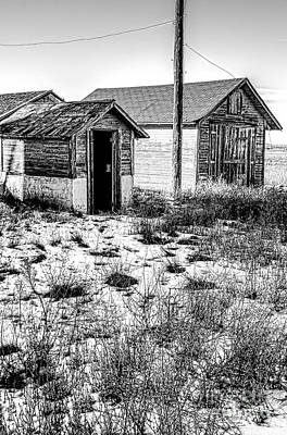 The Tool  Shed Art Print by Baywest Imaging