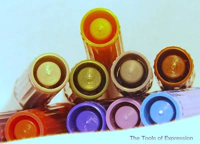Colorful Photograph - The Tools Of Expression by Michael Sokalski