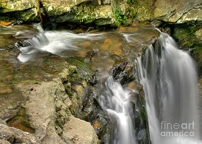 Photograph - The Top Kilgore Falls by Mark Dodd