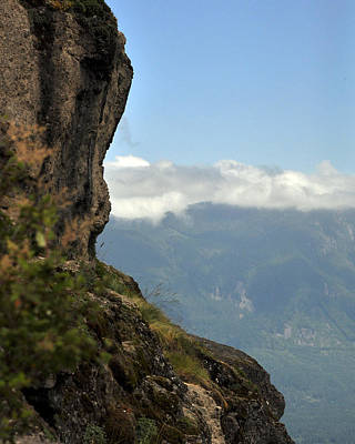 Photograph - The Top Ledge by Kirt Tisdale