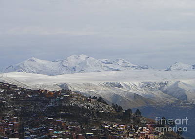 Photograph - The Top Of The Andes by Lew Davis