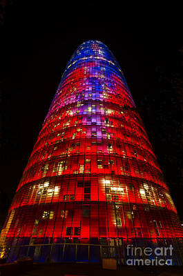 Photograph - The Torre Agbar by Deborah Smolinske