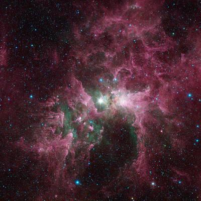 The Tortured Clouds Of Eta Carinae Art Print
