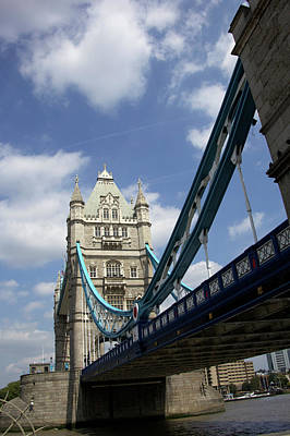 Marilyn Photograph - The Tower Bridge In London, England by Marilyn Parver