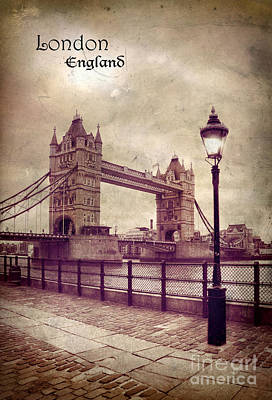 Photograph - The Tower Bridge by Jill Battaglia