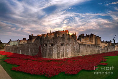 Tower Of London Digital Art - The Tower  by J Biggadike