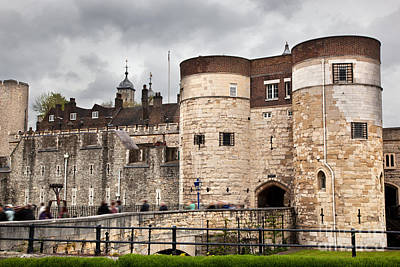 Gothic Photograph - The Tower Of London Uk The Historic Royal Palace And Fortress by Michal Bednarek