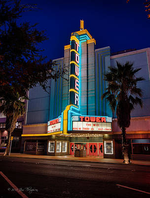 Photograph - The Tower Theater by Jim Thompson