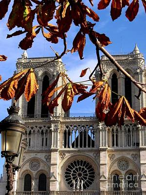 Photograph - The Towers Of Notre Dame De Paris by Mariana Costa Weldon