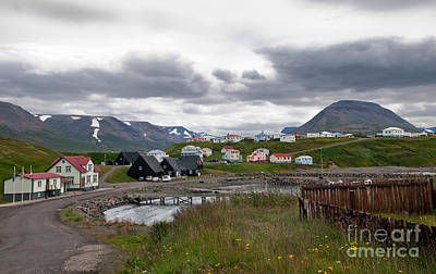 Hofsos Photograph - The Town Of Hofsos In Iceland by Jackie Follett